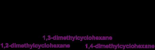 dimethylcyclohexanes