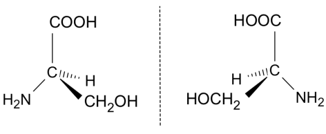 serine opical isomers